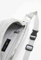 New Look - Chainmail bumbag - silver