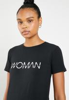 STYLE REPUBLIC - Woman T-shirt - black