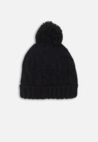 MINOTI - Chunky knit hat - navy