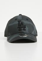 New Era - Kids camo los angeles dodgers trucker cap - grey