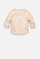 MINOTI - Baby girls long sleeve top - beige