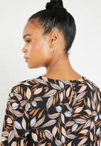 dailyfriday - Printed blouse - black