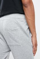 KAPPA - Logo zibu slim shorts- grey