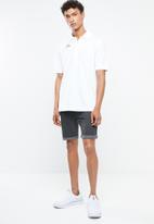 KAPPA - Logo zibu slim shorts - grey