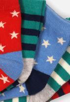 MINOTI - 5 Pack ankle socks - multi