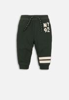 MINOTI - Baby boys jog pant - green