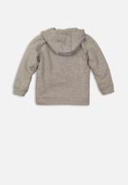 MINOTI - Boys hooded top - grey