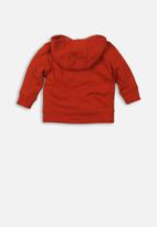 MINOTI - Baby boys hooded top - rust