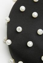 Superbalist - Pearl beret - black