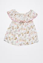 Superbalist - Kids circus woven top - floral multi