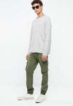 Only & Sons - Stage cargo cuffed jogger - khaki