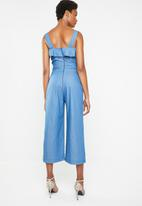 Superbalist - Culotte jumpsuit - blue
