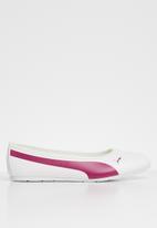 PUMA - Basic ballerina pumps - white