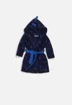 MINOTI - Spike cuff dressing gown - blue