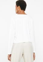 Superbalist - Boho button front blouse - white