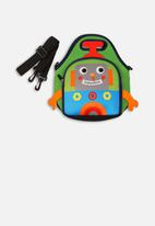 MINOTI - Robot lunch bag - green & blue