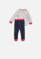 MINOTI - Aop long sleeve pyjama set - multi