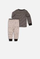 MINOTI - Silly monster pyjama set - grey