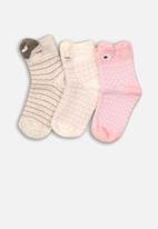 MINOTI - 3 Pack ankle socks - multi