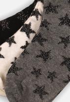 MINOTI - 3 pack ankle socks - multi