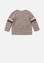 MINOTI - New York long sleeve top - grey