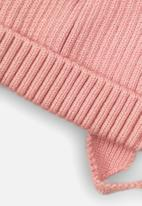 MINOTI - Baby girls knitted hat - pink