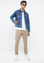 Superbalist - Fashion Slim Denim Trucker Jacket - blue