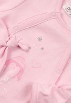 MINOTI - 2 piece sleepsuit & hat set - pink