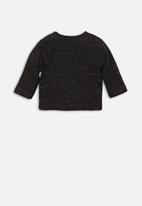 MINOTI - Long sleeve top - charcoal