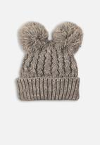 MINOTI - Knitted hat - grey