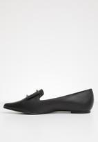 Superbalist - Buckle detail loafer - black