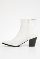 Superbalist - Winona cowboy boot - white