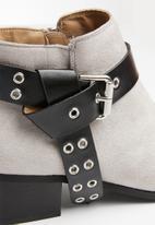 Superbalist - Harley studded bootie - grey
