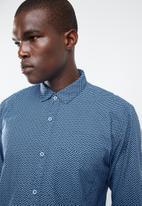 STYLE REPUBLIC - Fortune long sleeve shirt - blue