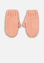MINOTI - Girls knitted gloves - pink