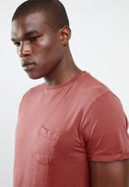 STYLE REPUBLIC - Soft pocket tee - pink