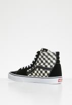 Vans - SK8-Hi - blur check black & classic white