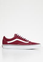 Vans - Vans old skool - rumba red & true white