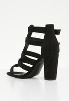 Superbalist - Willow gladiator heel - black