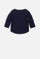 MINOTI - Long sleeve top - navy