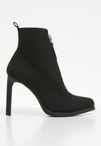G-Star RAW - Strett heel boot - black