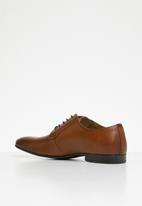 ALDO - Leather lace-up derby dress shoe - brown