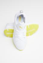 PUMA - Muse Tz - Puma white-blazing yellow