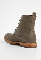 Superbalist - Grayson brogue detail boot - brown