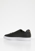 PUMA - Basket Crush Emboss - Puma black-Puma team gold