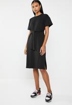 Superbalist - Sporty sweat dress - black