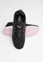 PUMA - Muse Tz - black & pink