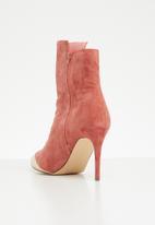 Miss Black - Kirsten boot - pink