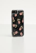 Typo - Shake it iPhone case  - black & transparent