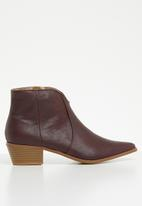 Jada - Cowboy boot - burgundy